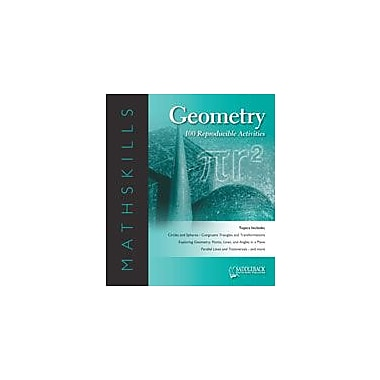 Saddleback Educational Publishing Mathskills Geometry Math Workbook, Grade 6 - Grade 12 [eBook]