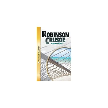 Saddleback Educational Publishing Robinson Crusoe Reading & Writing Workbook, Grade 9 - Grade 12 [eBook]