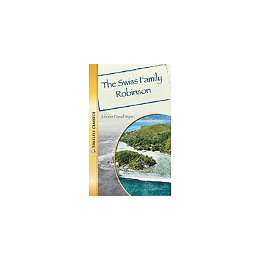 Saddleback Educational Publishing Swiss Family Robinson Reading & Writing Workbook, Grade 9 - Grade 12 [eBook]