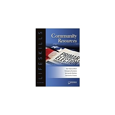 Saddleback Educational Publishing Community Resources Character & Social Skills Workbook, Grade 9 - Grade 12 [eBook]