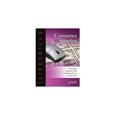 Saddleback Educational Publishing Consumer Spending Character & Social Skills Workbook, Grade 9 - Grade 12 [eBook]