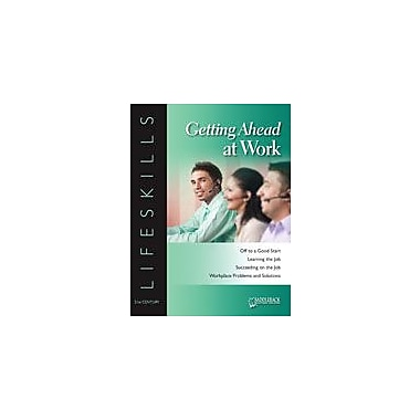 Saddleback Educational Publishing Getting Ahead At Work: Succeeding On the Job-Qualifying For A Raise Workbook [eBook]