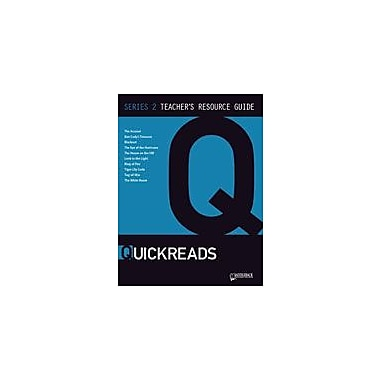 Saddleback Educational Publishing Quickreads Series 2 Teacher's Guide Test Prep Workbook, Grade 9 - Grade 12 [eBook]