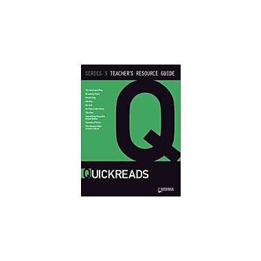 Saddleback Educational Publishing Quickreads Series 3 Teacher's Guide Test Prep Workbook, Grade 9 - Grade 12 [eBook]