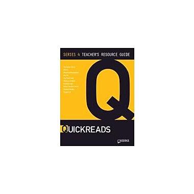 Saddleback Educational Publishing Quickreads Series 4 Teacher's Guide Test Prep Workbook, Grade 9 - Grade 12 [eBook]