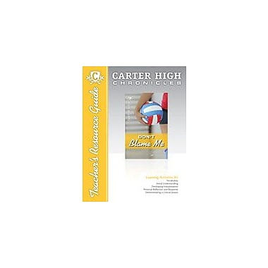 Saddleback Educational Publishing Don't Blame Me Teacher's Resource Guide Reading & Writing Workbook, Grade 9 - Grade 12 [eBook]