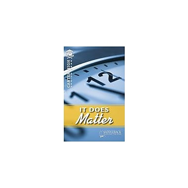 Saddleback Educational Publishing It Does Matter Reading & Writing Workbook, Grade 9 - Grade 12 [eBook]