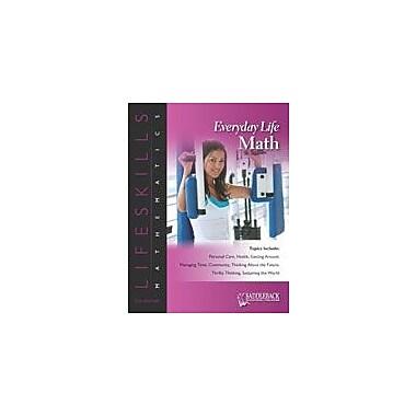 Saddleback Educational Publishing Everyday Life Math: Managing Time-The Small-Black-Circle Game Workbook [eBook]