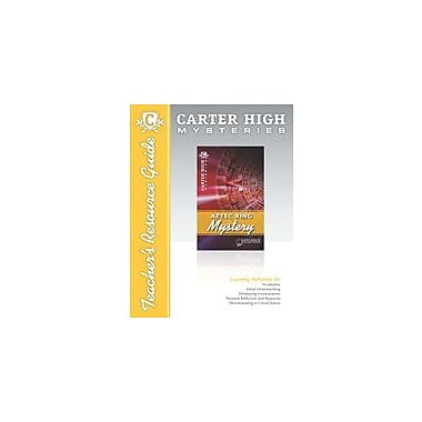 Saddleback Educational Publishing Aztec Ring Mystery Teacher's Resource Guide, Grade 9 - Grade 12 [eBook]
