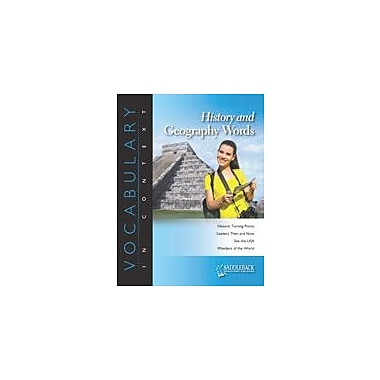 Saddleback Educational Publishing History and Geography Words-The Code of Hammurabi Workbook, Grade 6 - Grade 12 [eBook]