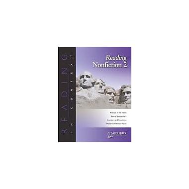 Saddleback Educational Publishing Reading Nonfiction 2 Reading & Writing Workbook, Grade 6 - Grade 12 [eBook]