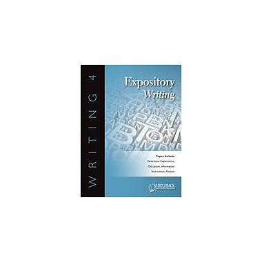 Saddleback Educational Publishing Writing 4 Expository Writing Language Arts Workbook, Grade 6 - Grade 12 [eBook]