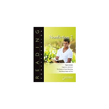 Saddleback Educational Publishing Reading Comprehension Nonfiction: the Bone Builder, Grade 5 - Grade 12 [eBook]