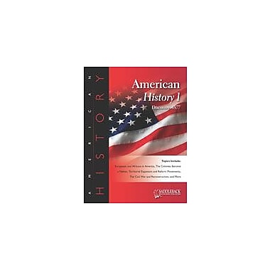 Saddleback Educational Publishing American History 1 History Workbook, Grade 6 - Grade 12 [eBook]