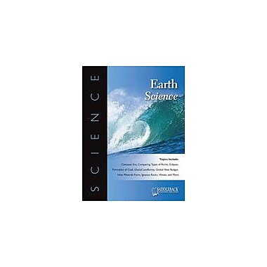 Saddleback Educational Publishing Earth Science Science Workbook, Grade 9 - Grade 12 [eBook]