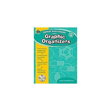 Teacher Created Resources Content Area Lessons Using Graphic Organizers, Grade 4 Geography Workbook, Grade 4 [eBook]