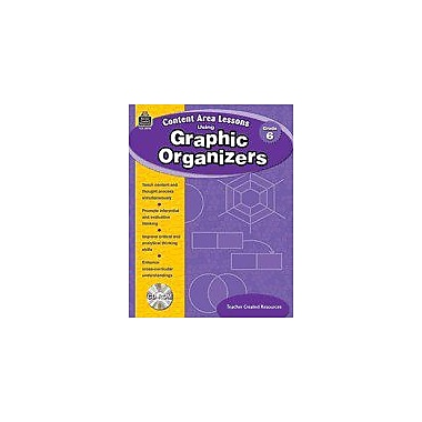 Teacher Created Resources Content Area Lessons Using Graphic Organizers, Grade 6 Geography Workbook, Grade 6 [eBook]
