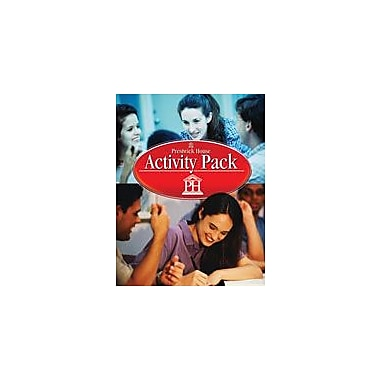 Prestwick House Roll of Thunder, Hear My Cry, Activity Pack Language Arts Workbook, Grade 7 - Grade 12 [Enhanced eBook]
