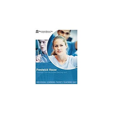Prestwick House Anthem, Teaching Unit Language Arts Workbook, Grade 7 - Grade 12 [eBook]