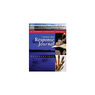 Prestwick House Fences, Response Journal Language Arts Workbook, Grade 7 - Grade 12 [eBook]