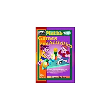 Ready-Ed Publications Maths Games and Activities Math Workbook, Grade 5 - Grade 7 [eBook]
