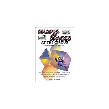 Ready-Ed Publications Shapes & Spaces At the Circus, Australian Edition Math Workbook, Grade 1 - Grade 3 [eBook]