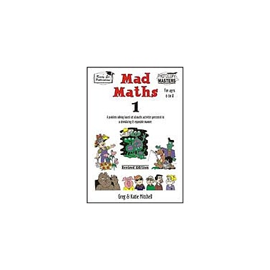 Ready-Ed Publications Mad Math 1, Australian Edition Math Workbook, Grade 1 - Grade 3 [eBook]