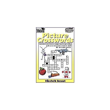 Ready-Ed Publications Picture Crosswords, Australian Edition Language Arts Workbook, Grade 1 - Grade 3 [eBook]