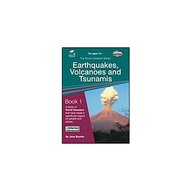 Ready-Ed Publications Earthquakes, Volcanoes & Tsunamis, Australian Edition Science Workbook, Grade 5 - Grade 7 [eBook]
