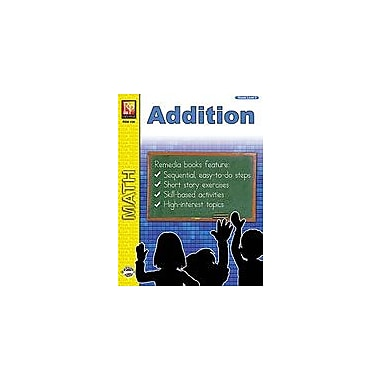 Remedia Publications Addition Math Workbook, Grade 2 [Enhanced eBook]