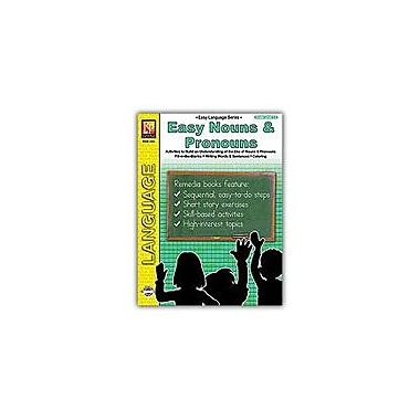 Remedia Publications Easy Language Series: Easy Nouns and Pronouns Language Arts Workbook, Grade 1 - Grade 2 [eBook]