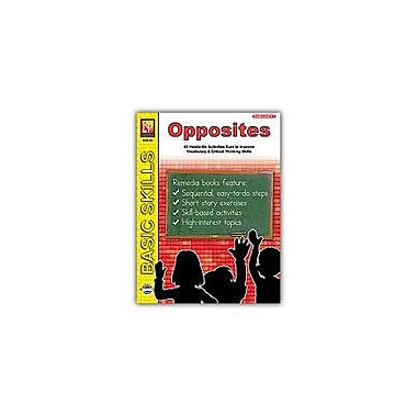Remedia Publications Readiness Skills Series 2: Opposites Problem Solving Workbook, Kindergarten - Grade 1 [Enhanced eBook]