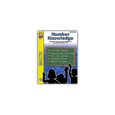 Remedia Publications Number Knowledge Math Workbook, Kindergarten - Grade 2 [eBook]