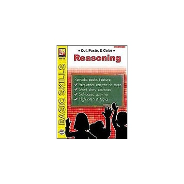 Remedia Publications Cut, Paste & Color: Reasoning Problem Solving Workbook, Grade 1 - Grade 2 [eBook]