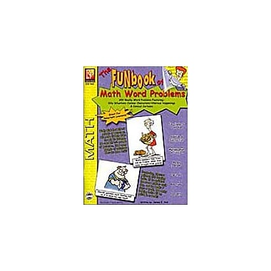 Remedia Publications The Funbook of Math Word Problems Math Workbook, Grade 4 - Grade 12 [eBook]