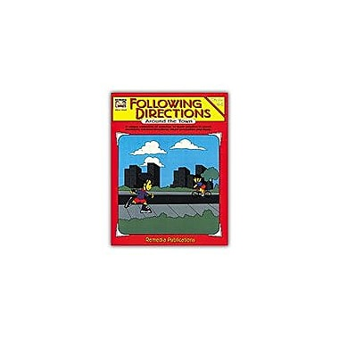 Remedia Publications Following Directions Around the Town Character & Social Skills Workbook, Grade 4 - Grade 6 [Enhanced eBook]