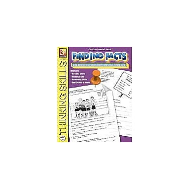 Remedia Publications Finding Facts Problem Solving Workbook, Grade 3 - Grade 6 [Enhanced eBook]