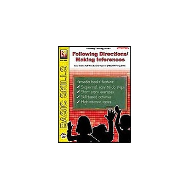 Remedia Publications Following Directions / Making Inferences Problem Solving Workbook, Grade 1 - Grade 2 [Enhanced eBook]