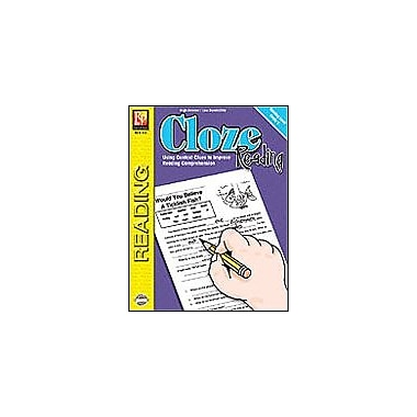 Remedia Publications Cloze Reading (Rdg. Level 5) Reading & Writing Workbook, Grade 4 - Grade 8 [eBook]