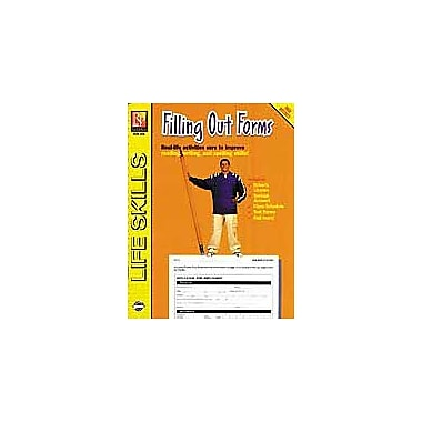 Remedia Publications Filling Out Forms Business Workbook, Grade 4 - Grade 12 [Enhanced eBook]