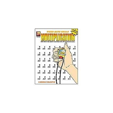 Remedia Publications Timed Math Drills: Multiplication Math Workbook, Grade 3 - Grade 6 [Enhanced eBook]