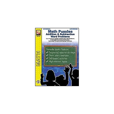 Remedia Publications Math Puzzles: Addition and Subtraction Math Workbook, Grade 3 - Grade 6 [Enhanced eBook]