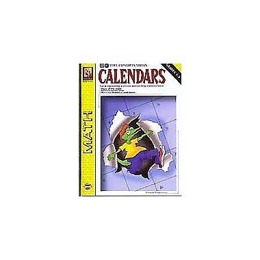 Remedia Publications Time Concepts Series: Calendars Math Workbook, Kindergarten - Grade 3 [Enhanced eBook]
