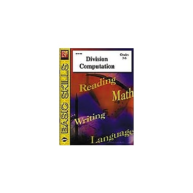 Remedia Publications Division Computation Math Workbook, Grade 3 - Grade 6 [eBook]