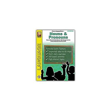bd24bb4ab26 Remedia Publications Easy Language Series  Nouns and Pronouns Grammar  Workbook