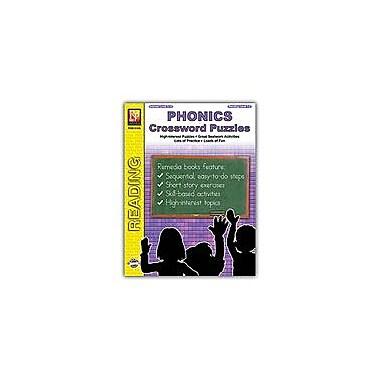 Remedia Publications Phonics Crossword Puzzles Reading & Writing Workbook, Grade 3 - Grade 8 [eBook]