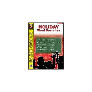 Remedia Publications Holiday Word Searches Puzzles Workbook, Grade 2 - Grade 4 [eBook]