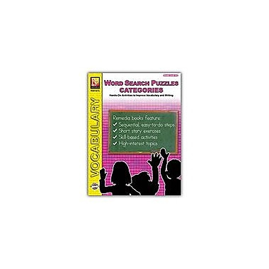 Remedia Publications Word Search Puzzles: Categories Reading & Writing Workbook, Grade 4 - Grade 6 [eBook]