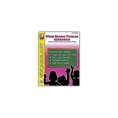 Remedia Publications Word Search Puzzles: Research Reading & Writing Workbook, Grade 3 - Grade 4 [eBook]