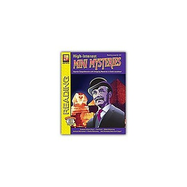 Remedia Publications High-Interest Mini Mysteries (Rdg. Level 3-4) Reading & Writing Workbook, Grade 3 - Grade 4 [eBook]